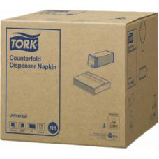 Tork Counterfold диспенсерные салфетки белые